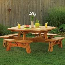 Free Wood Craft Plans by 100 Best Picnic Table Plans Images On Pinterest Picnic Table