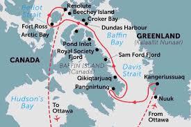 Greenland Map Greenland Tours Travel U0026 Trips Peregrine Adventures Nz