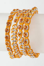 crystal rope bracelet images Ketja cord wrapped crystal chain bracelet ava adorn apparel and jpg