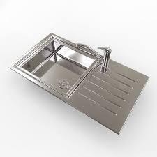 kitchen sink model kitchen sink with mixer tap 3d model cgtrader
