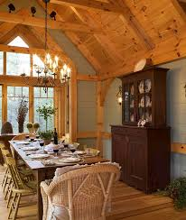 timber frame great room lighting timber frame dining room oh give me a home pinterest
