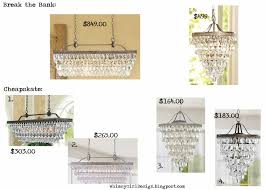 Expensive Crystal Chandeliers by Whimsy Girl Break The Bank Vs Cheapskate Crystal Drop Chandeliers