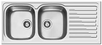 stainless sink with drainboard double kitchen sink stainless steel with drainboard sky 500