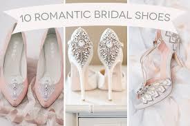 Wedding Shoes Cork Cinderella Heels The Top 10 Most Romantic Bridal Shoes