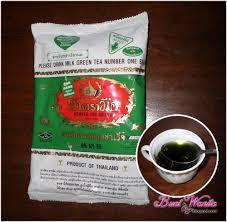 Teh Hijau Serbuk blend matcha green tea teh hijau latte buat wanita