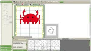 What Is Cricut Craft Room - cricut craft rom crab tutorial no cartridge needed youtube