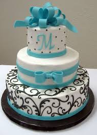 birthday cake blue and silver image inspiration of cake and