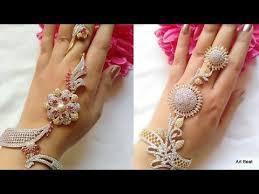 bridal ring bracelet images Beautiful ring bracelets designs beautiful bridal hand jpg