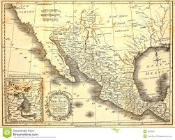 map of mexico 1821 1821 map of mexico royalty free stock photography image 2676207