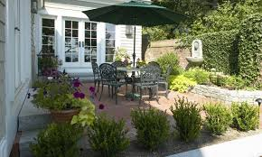 New England Backyards by Maturestudent102 Patio Designs New England
