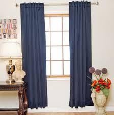 navy blackout curtains 96 home design ideas