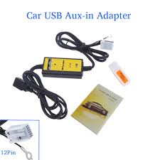 aliexpress com buy auto car usb aux in adapter mp3 player radio