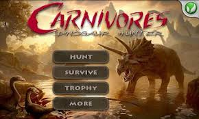 carnivores dinosaur apk free carnivores dinosaur hd 1 3 2 apk android