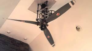 airplane ceiling fan dudes 8ft diameter airplane propeller ceiling fan youtube