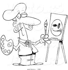 famous artist coloring pages and artist coloring pages eson me