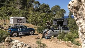 jeep grand cherokee roof top tent mini countryman rooftop tent option revealed photos 1 of 3