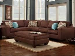 paint colors for living room with dark brown couch