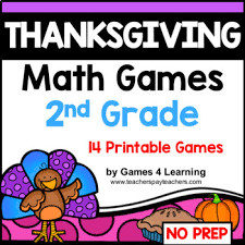 thanksgiving math second grade thanksgiving activities