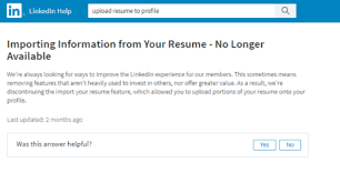 Can You Upload Your Resume To Linkedin Uploading A Resume To Your Linkedin Profile Intero Advisory