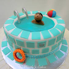cheap birthday cakes confections cakes creations swimming pool birthday cake with photo