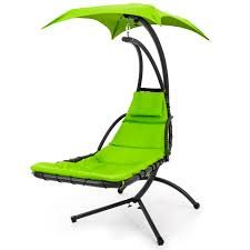 Whos That Lounging In My Chair Best Choice Products Hanging Chaise Lounger Chair Arc Stand Air