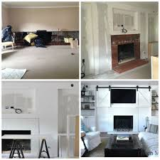 How To Build Fireplace Surround by Diy Fireplace Mantel Reveal Hometalk