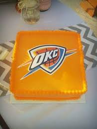 okc thunder cookies party favors okc thunder party ideas