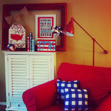 americana home decor displaying patriotism