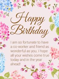 funny birthday card messages for coworker birthday cards lovely