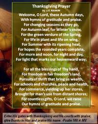 thanksgiving prayers thanksgiving blessings