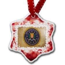 buy ornament fbi federal bureau of investigation