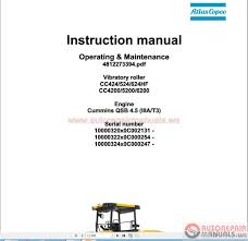 auto repair manuals dynapac full set manual shop manual dvd