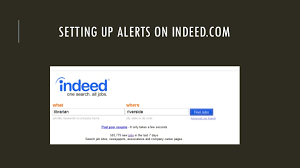 Post Resume On Indeed Jobs How To Create Job Alerts On Indeed Com