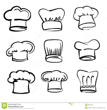 Chef Hat Icons Stock Vector Image 39839795