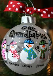 grandparent christmas ornaments custom order for megan grandparents ornament and grandchildren