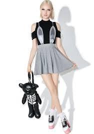 one spo one spo rabbit flared skirt dolls kill