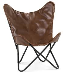 Cb2 Leather Chair Lookalikes Tan Leather Butterfly Chairs U2014 The Design Edit