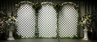 wedding backdrop lattice runaway bridal planner wedding backdrops recently designed and