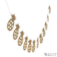 pineapple glitter garland