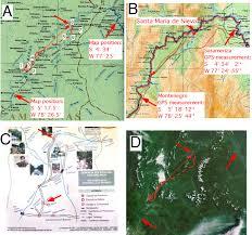 As The Crow Flies Map La Condamine U0027s Voyage