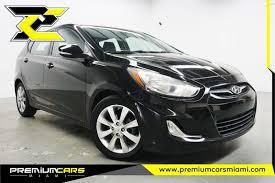 hyundai accent miami 2013 hyundai accent se 4dr hatchback in miami fl premium cars of