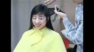 female haircutting videos clipper haircc c26 pt 01 long to very short crop makeover shoo haircut