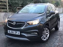vauxhall mokka interior used vauxhall mokka x 1 6 active petrol manual for sale in oldham