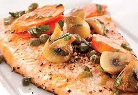 cuisiner truite au four filets de truite duo de carottes à l hydromel coup de pouce