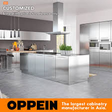 modern kitchen cabinets for sale oppein sale modern simple design stainless steel kitchen cabinet