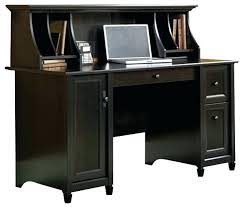 sauder desk with hutch black computer desk hutch s estate black computer desk with hutch
