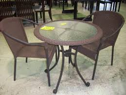 Tall Outdoor Table Patio Furniture Patio Table And Chair Sets On Clearance Chairs At