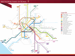 Rome On World Map Conquering Atac A Guide To Rome U0027s Public Transportation Network
