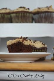 chocolate cupcakes with peanut butter frosting1 jpg gid 8 decadent chocolate cupcakes with peanut butter frosting