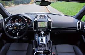 porsche suv interior 2017 2017 porsche cayenne platinum edition road test review carcostcanada